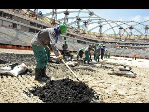 Qatar 'World Cup' Construction Sees Death & Slavery