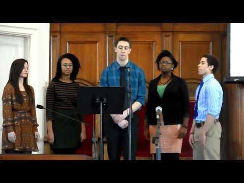 """Hallelujah!"" WCCoC Campus Ministry -  Lyrics of John Joseph Porter"