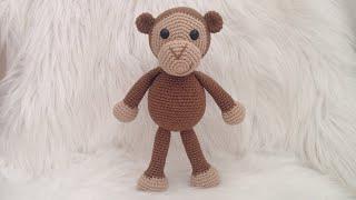 Amigurumi Maymun Mogli - Amigurumi Oyuncak Maymun Tarifi | 180x320