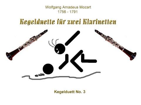 W. A. Mozart - Kegelduett No. 3 - YouTube