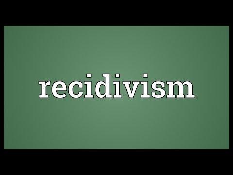Header of recidivism
