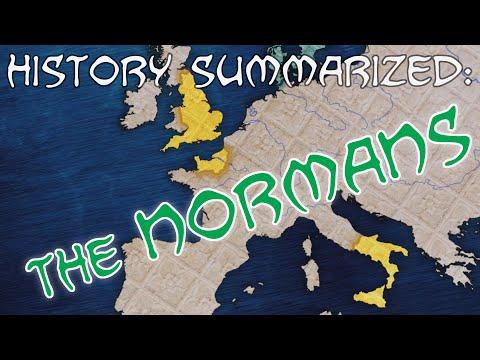 History Summarized: The Normans (Ft Shadiversity!)