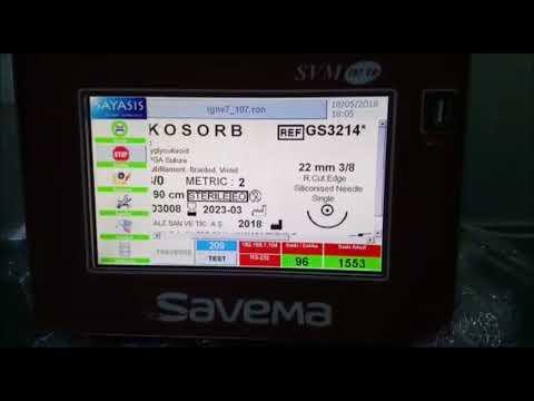 SVM TR107 Traverse Printer on Medical Equipment in Ankara