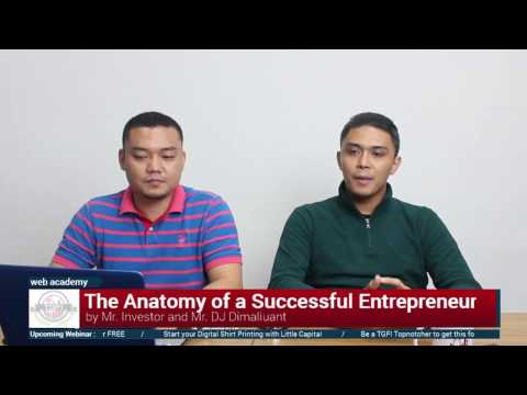 The Anatomy of a Successful Entrepreneur edited