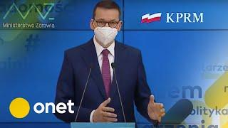 Koronawirus. NOWE OBOSTRZENIA od soboty. Oto co nas czeka | Konferencja premiera i ministra zdrowia