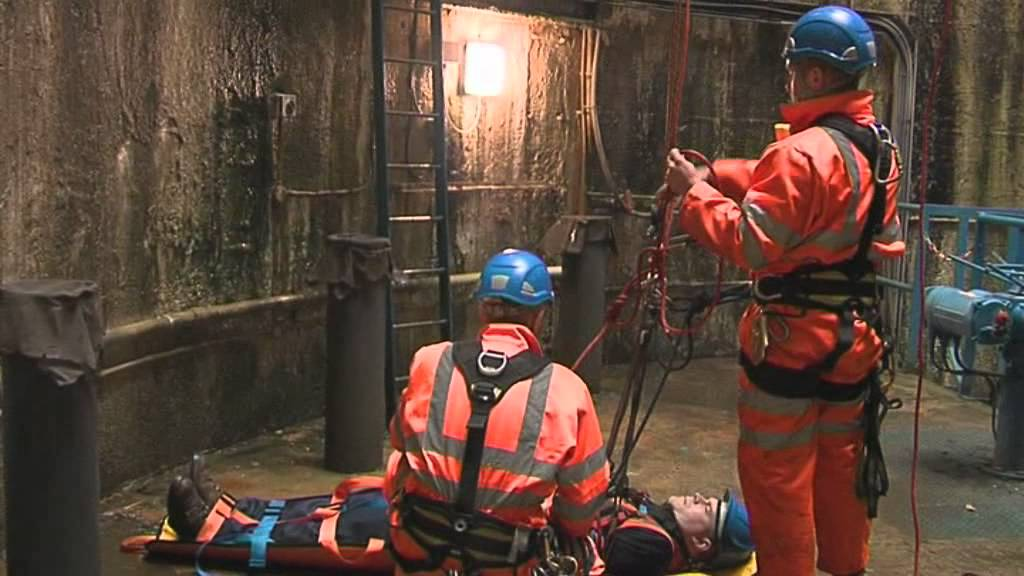 Confined Space Rescue Demonstration Youtube