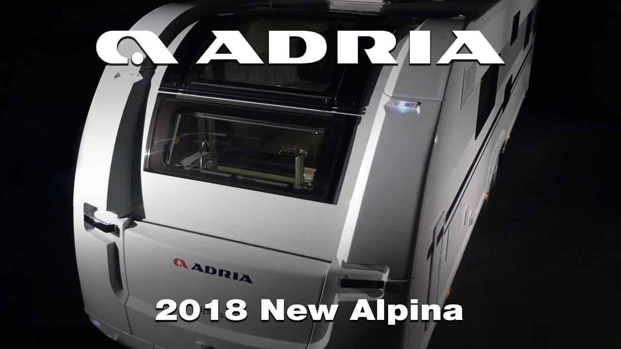 7bae19b44e0d22 2018 New Adria Alpina image video. Adria Mobil