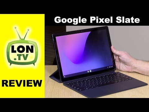 Google Pixel Slate Review - Chrome OS Tablet that runs Android / Linux
