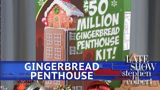 A $50 Million Gingerbread Penthouse For The Holidays