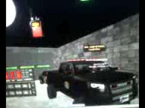 Second Life State Police EVHUD Test: Federal Signal Unitrol Omega Siren