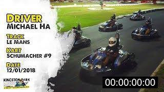 Driver Profile - Michael Ha | Kingston Park Raceway Go Karting Brisbane Gold Coast