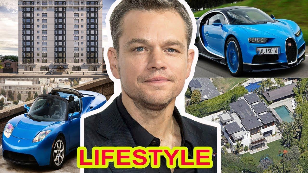 Matt Damon lifestyle 2018, Net Worth, House, Cars, Income ...