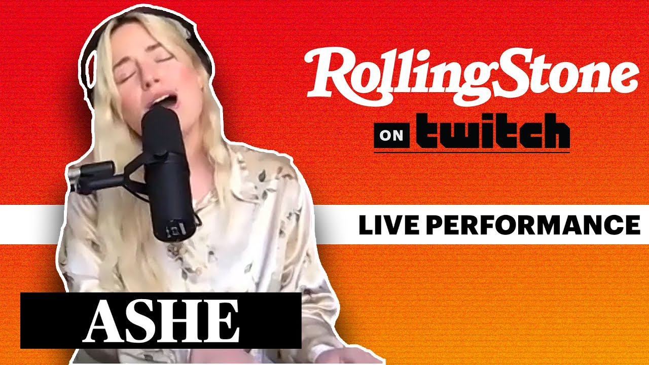 Ashe Performs Live