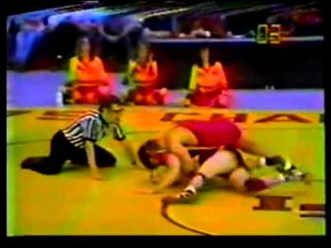 Kelly Ward Over Dan Zilverberg 7-2 In 1979 NCAA Finals