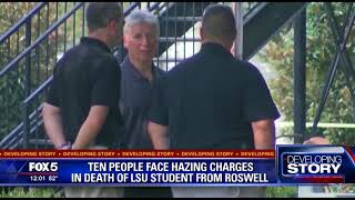 10 arrested for hazing in death of LSU freshman from Roswell
