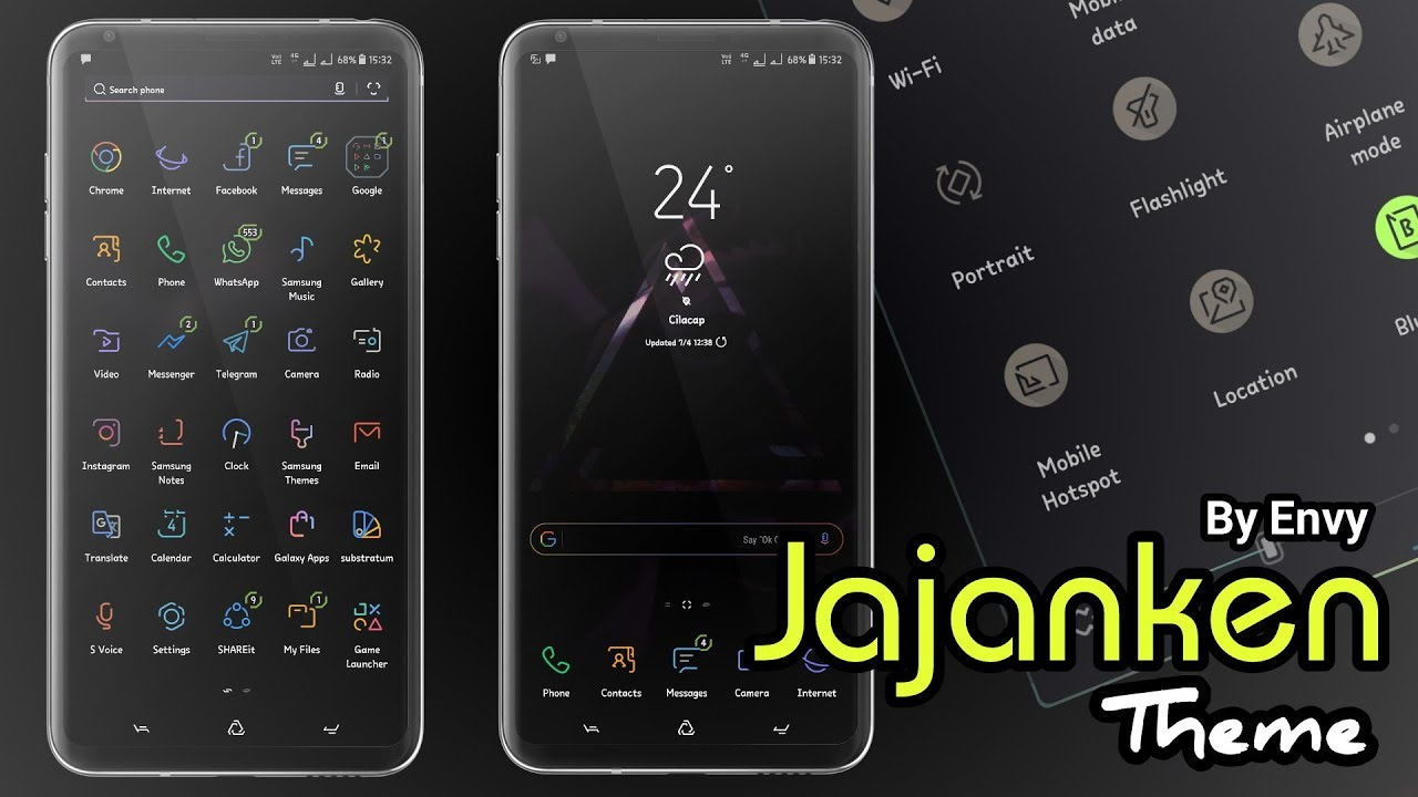 Jajanken Theme By Envy | Samsung Theme