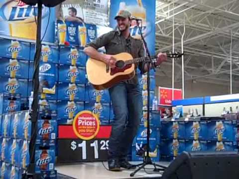 Luke Bryan at Wal-Mart with WAMZ-