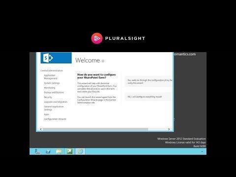 Installing SharePoint Server 2013