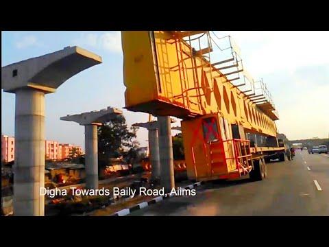 Elevated Corridor, full video Digha to Aiims 4 lane Road Bridge Construction in India