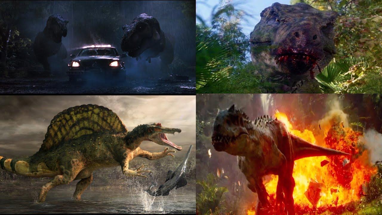 T rex family vs spinosaurus i rex hd youtube for T rex family