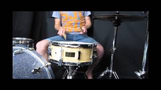 """PorkPie Maple Block Shell Snare Drum - 14x6"""" Available now at Soundattak"""