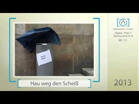 1. Platz Digital 2013 - 3. Fotomarathon-Dresden.de