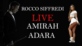 Rocco Goes live With Amirah Adara