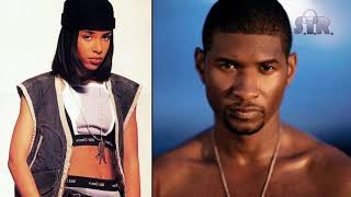 Usher vs. Aaliyah - There Goes My Baby (Age Ain't Nothing But a Number) (S.I.R. Remix) | Mashup