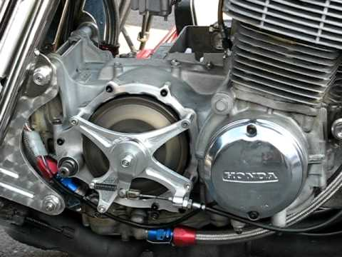 Honda Dream Wiring Diagram Suter Slipper Dry Clutch On Honda Cb 750 Four Youtube