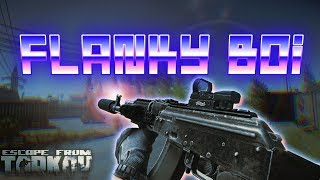 5 man Squad wipe at Customs | Flanky Boi |  -  Escape From Tarkov Stream highlights #1