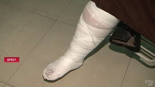 Что мешает коммунальщикам бороться с гололёдом? Более 150 жителей Бреста получили травмы