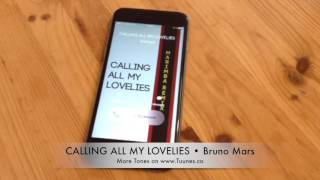 Calling All My Lovelies Ringtone (Bruno Mars Tribute Marimba Remix Ringtone) • For iPhone & Android