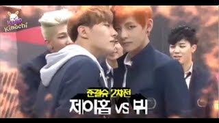 """Khi Idols Kpop chơi trò """"đẩy tay"""" siêu hài =)) (BTS,GOT7,WANNA ONE,RED VELVET,...)"""