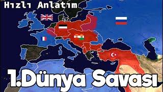 I. Dünya Savaşı - Haritalı Hızlı Anlatım - Tek Part