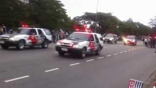 Desfile 9 de Julho de 2013 Polícia Militar SP