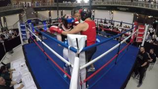Ultra White Collar Boxing Burton Alex Sania VS Ben Kirby