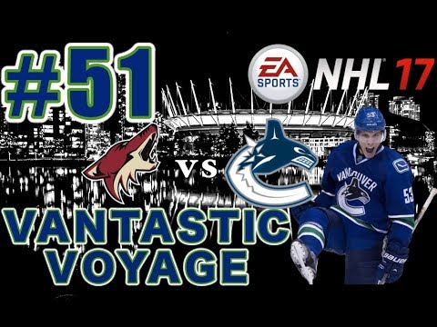 "NHL 17: Vancouver Canucks Franchise Mode #51 ""Round 2"""