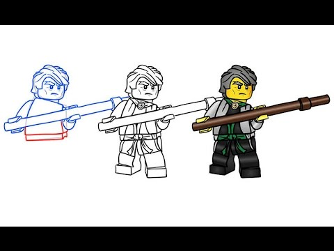 How to draw sensei garmadon from lego ninjago youtube - Sensei ninjago ...
