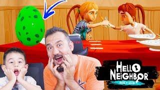 ÇİRKİN KUŞUN YUMURTASINI ÇALDIK! SALDIRDI! | HELLO NEIGHBOR HIDE AND SEEK #2