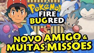 NOVO E AMIGO & INFINITOS OBJETIVOS - Pokémon FireRed Monotype Insetos (Bug) #6