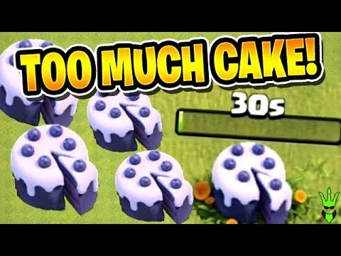 I HAVE TOO MUCH CAKE! - Road to Max TH12 - Clash of Clans