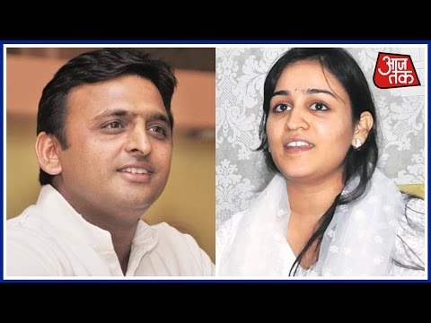 Akhilesh Yadav fields sister-in-law Aparna Yadav from Lucknow Cantt