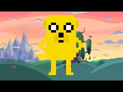 Pixel Art Archive #4 - Adventure Time's Jake!