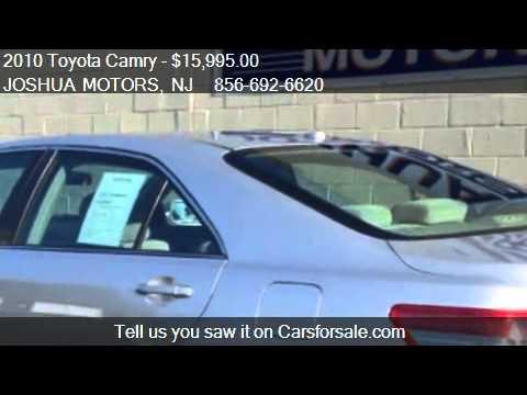 2010 Toyota Camry Le V6 6 Spd At For Sale In Vineland