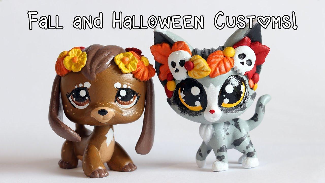 my halloween lps customs youtube