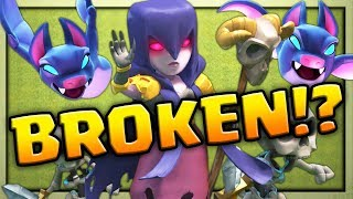 BROKEN? Is This Attack TOO Strong? Clash of Clans Strategy Bat Slap!