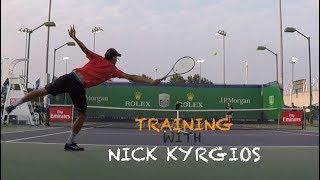 Training With Nick Kyrgios | Rolex Shanghai Masters 2018 (tenfitmen)