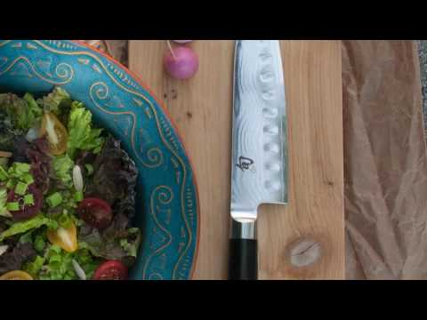 Kai DM0718 Granton Santoku video_1