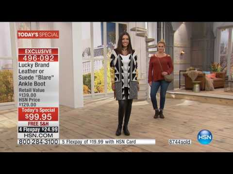 HSN | Lucky Brand Footwear Premiere / LYSSE Fashions 09.26.2016 - 01 PM