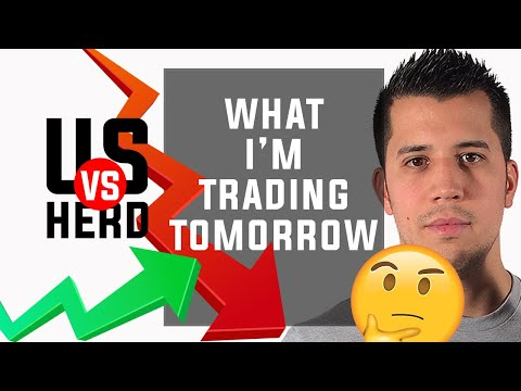 What I'm Trading Tomorrow – 2020 Stock Market Crash – Options Trading Watchlist